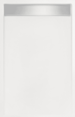 Witte Tegeldepot Douchebak rechthoek zelfdragend Easy Tray 100x80x5cm Mat