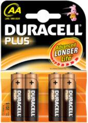 Duracell Plus Power LR06 AA batterij (penlite) Alkaline 1.5 V 4 stuk(s)
