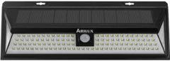 Meco ARILUX® AL-SL 22 Solar Power 118 LED Waterproof PIR Motion Sensor Light Outdoor Wide Angle Wall Lamp