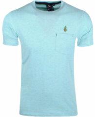 Blauwe MZ72 heren t-shirt tommy borstzak