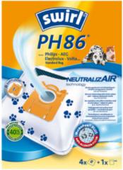 Melitta Haushaltsprod PH 86NeutralizairVE4 - Staubbeutel für Philips PH 86NeutralizairVE4, Aktionspreis