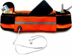 Now4you Running belt - Hardloop belt - Hardloop riem - Oranje