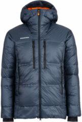 Mammut - Eigerjoch Pro Insulation Hooded Jacket - Donsjack maat M, wit/grijs/zwart/olijfgroen/zwart/olijfgroen/rood/zwart/olijfgroe