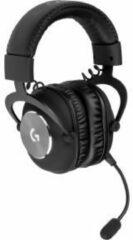 Zwarte Logitech G PRO X Professionele Gaming Headset met DTS Headphone:X 2.0 en 7.1 Surround sound