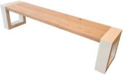 Bruine Wood4you - Bankje New Jersey - 120Lx40Hx38D cm