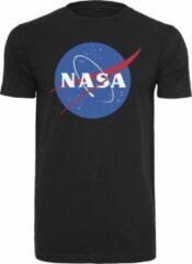 NASA Logo Men T-shirt - Zwart