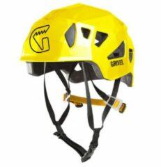 Grivel - Stealth - Klimhelm maat 55-61, geel/zwart/oranje