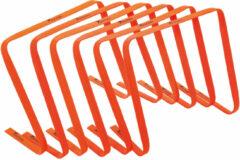 Precision hordenset 38 x 48 cm PVC oranje 6 stuks