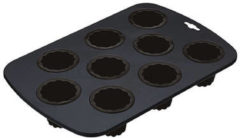 Grijze KitchenCraft Bakvorm voor 9 canalé cakejes - Masterclass