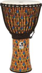 Toca SFDJ-12K Synergy Freestyle Djembe Rope Kente Cloth djembé