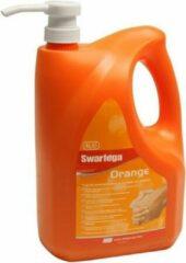 Swarfega orange handzeep 4 liter met ingebouwde pomp