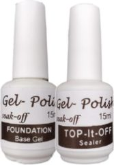 Purplebox Foundation ( base) en Top sealer - uv- led lamp- gel polish