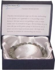 Een Wens Halfedelstenen Armband in Geschenkdoos Tianshan Kristal Graniet