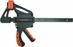 Zwarte Skandia Snellijmtang 2 Componenten Zwaar - 300 mm