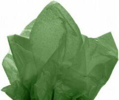 Donkergroene VerraXL Vloeipapier Olijf Groen - 50x75cm - 17gr - 480 stuks