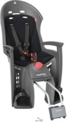Hamax 552501 Kindersitz Siesta Befestigung Rahmenrohr abschließbar, grau/schwarz (1 Stück)
