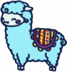 Attitude Holland Patch Baby Llama Multicolours