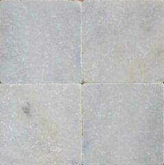Jabo mozaiektegel wit marmer anticato 20x20x1