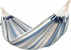 Blauwe Tweepersoons Klassieke Hangmat Outdoor Brisa Sea Salt - LA SIESTA (BRH16-13)