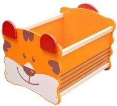 I'm Toy Speelgoed Opbergstapelkist Tijger - Oranje
