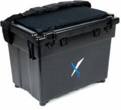 Zwarte X2 Hengelsport X2 Opbergbox Britse Box