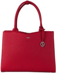 Rode SOCHA Dames Laptoptas 13,3 inch Midi Cherry Red