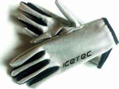 Zilveren ICETEC SuperSprint Handschoenen - M