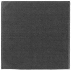 Antraciet-grijze Badmat Blomus Piana 55x55 cm Magnet