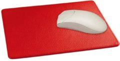 Lederonline Mousepad rundleder, diverse kleuren - Mocca