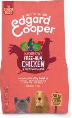 Edgard-Cooper Edgard&Cooper Free-Run Chicken Senior Kip&Zalm&Broccoli - Hondenvoer - 2.5 kg Graanvrij