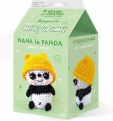 Graine Créative Graine Creative Amigurumi Haakpakket Panda 10 cm