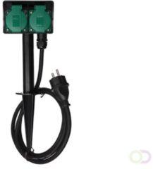 Perel Tuincontactdoos - stopcontact voor buiten met grondpen en netsnoer