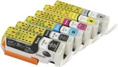 Cyane KATRIZ huismerk voor|canon cartridge 570XL 571XL 570 571 | Pixma MG 7700 / Pixma MG 7750/Pixma MG 7751/Pixma MG 7752/Pixma MG 7753/Pixma TS 8050/Pixma TS 8051/Pixma TS 8052/Pixma TS/8053/Pixma TS 9050/Pixma TS 9055|6stuks | met Chip