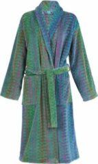 Blauwe Elaiva badjas met kraag Ocean Magic groen - Maat M