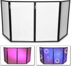 Vonyx DB2 opvouwbaar DJ-scherm 120 x 70 cm (4 panelen)