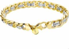 Goudkleurige The Jewelry Collection Zilgold Collection Armband Geslepen Gourmet - Bicolor Goud;zilver