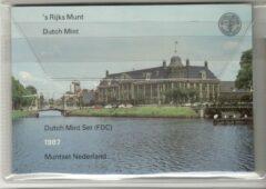 's Rijks Munt Nederland Jaarset Munten 1987 FDC - Utrecht