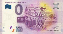 Paarse 0 Euro Biljet 2018 - Maastricht MIF