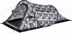 High Peak Campo Pop Up Tent - Camouflage - 2 Persoons