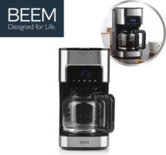 Roestvrijstalen BEEM Fresh-Aroma-Touch, Filterkoffiezetapparaat met 24 uurs timer - koffieapparaat