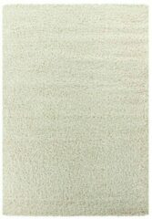 Creme witte Impression Himalaya Shaggy Hoogpolig Deluxe Vloerkleed Creme - 80x150 CM