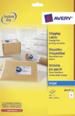 Avery verzendetiketten ft 99,1 x 139 mm (b x h) wit 40 etiketten in een doos