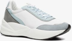 Scapino Blue Box sneakers wit/lichtblauw