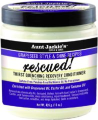 Aunt Jackies Aunt Jackie's Grapeseed Rescued! Thirst Quenching Recovery Conditioner