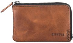 Rip Curl Handcrafted Zip Coin Slim Wallet