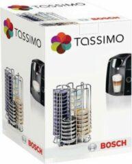 Zilveren Tassimo Bosch T-disc capsule houder capsulehouder - 52 capsules / cups - cuphouder koffiecups capsules
