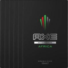 Axe Leer & Koekjes For Men - 150 ml - Deodorant Spray - 6 stuks - Voordeelverpakking