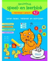 Deltas Reuzeleuk speel-en leerblok Leren Lezen, Rekenen en Schrijven (6-7Jr.)