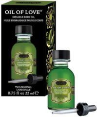 Groene Kama Sutra Oil of Love The Original - Likbare Olie - 22 ml