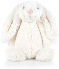 Creme witte Knuffel Bashful - Konijn - Medium - 31cm - Creme - JellyCat